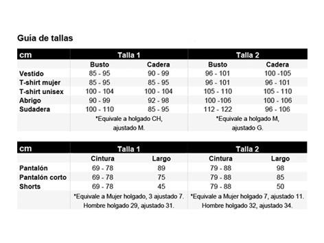 Tallas español tamaño 3 SL